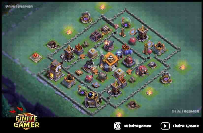 15 Best Builder Hall 7 Base With Link 2021 Bh7 Base Finite Gamer